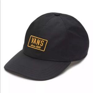 Vans Men's Boom Boom Hat Black Satin